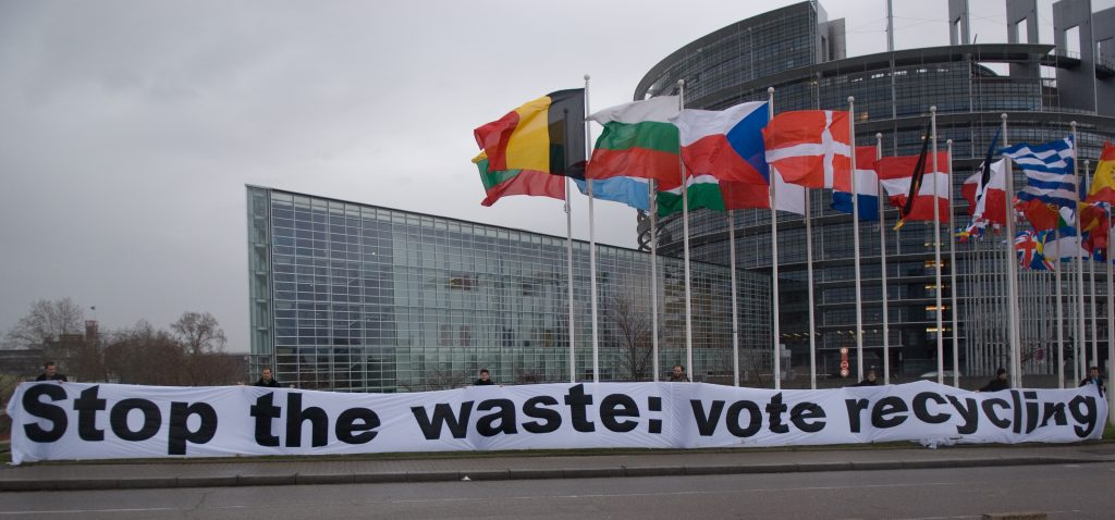 MEPs vote for European Recycling Society – and to cut our waste