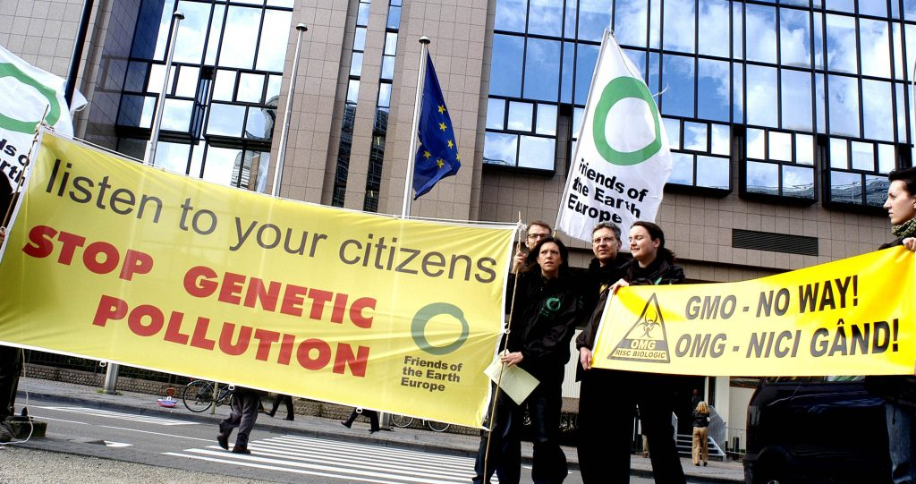 European Commission pushes for new GM crops in Europe