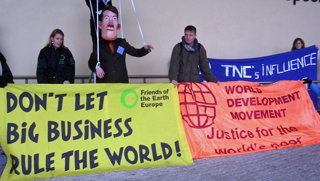 Mandelson's open markets threaten farmers, workers and environment