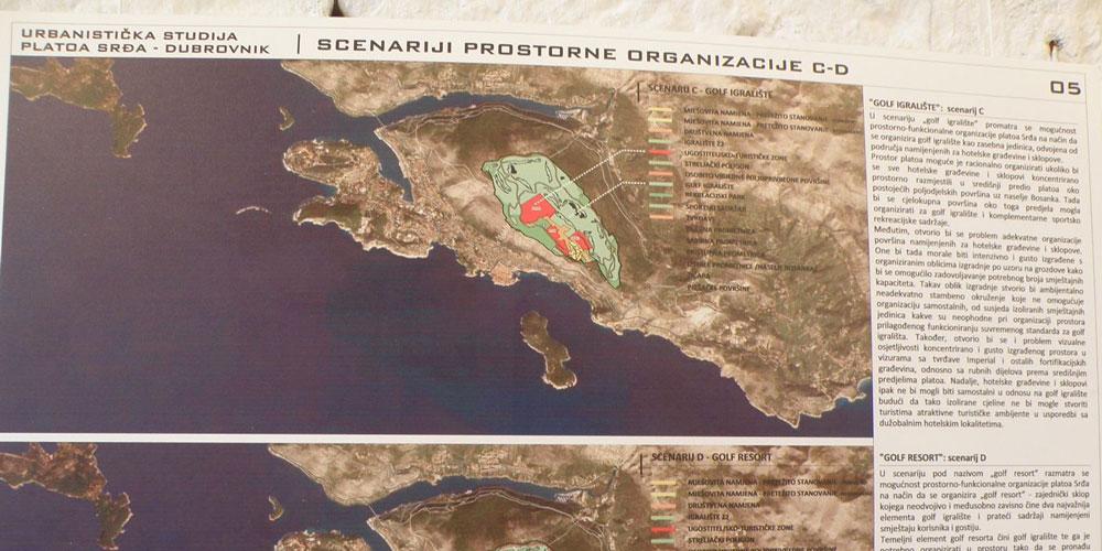 Challenging the Srdj plateau golf complex in Dubrovnik