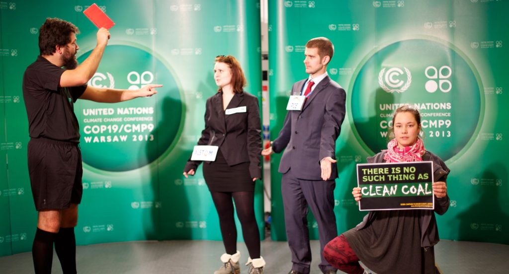 Kicking coal out of the climate talks