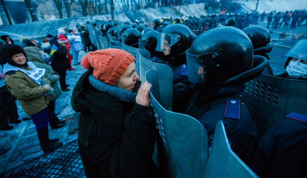 Ukraine: criminalisation of peaceful protests