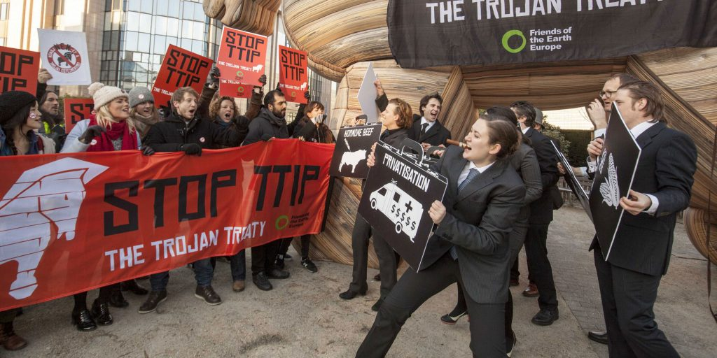 Existing and future protections threatened by EU-US trade talks