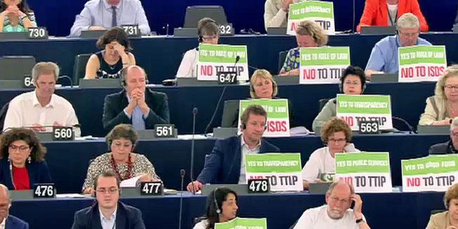 EU-US trade talks: European Parliament vote ignores citizen concerns