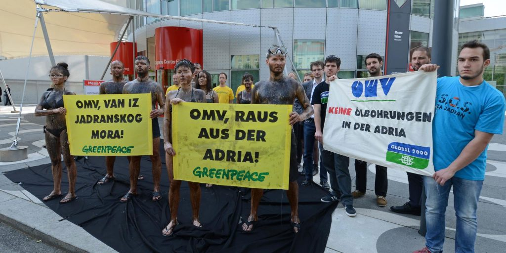 SOS Adriatic – two oil giants pull out