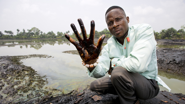 Nigeria urged to tackle oil pollution in Niger Delta