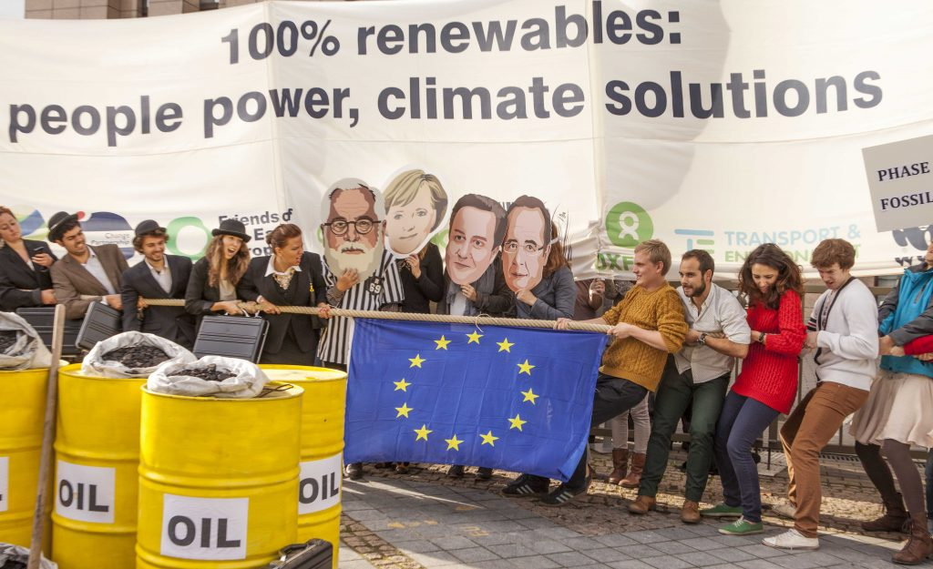 EU fails to put weight behind energy transformation