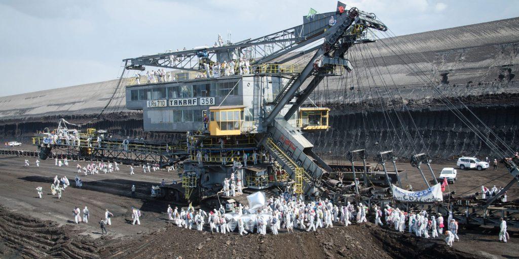 People power shuts down German coal mine