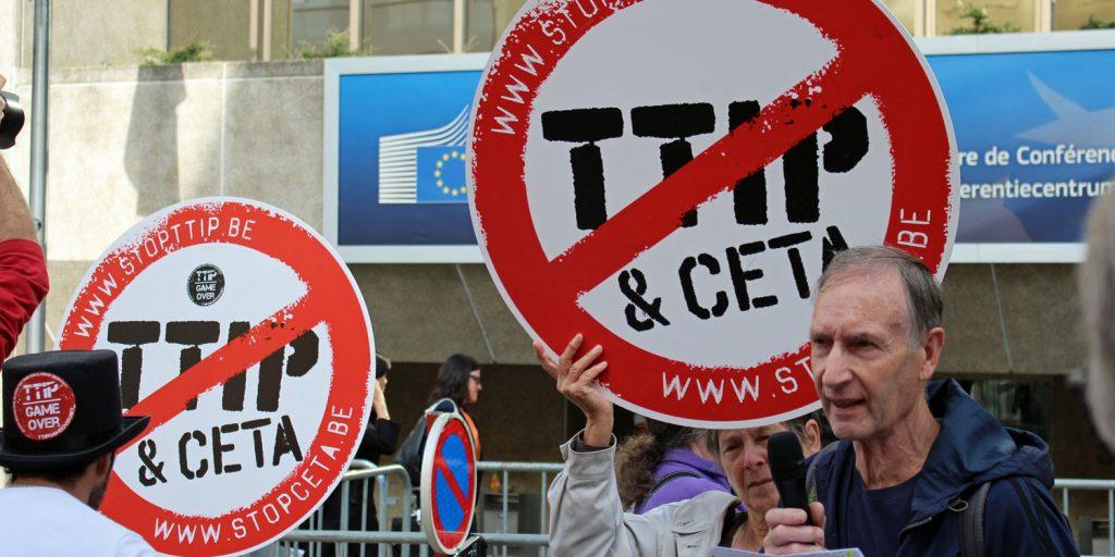 Leaked proposal on energy confirms TTIP fears
