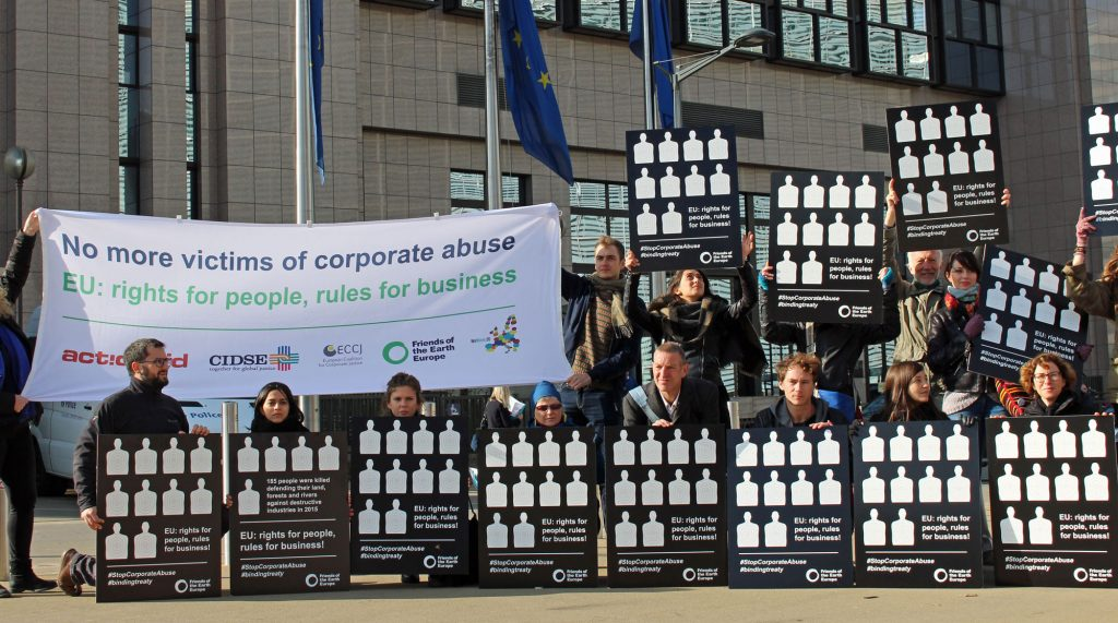 Citizens call for rights for people and rules for business