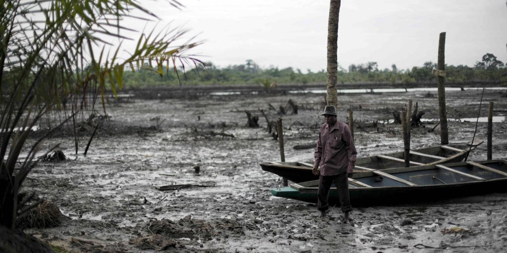 Shell accused of concealing damage to health from Nigerian oil spills