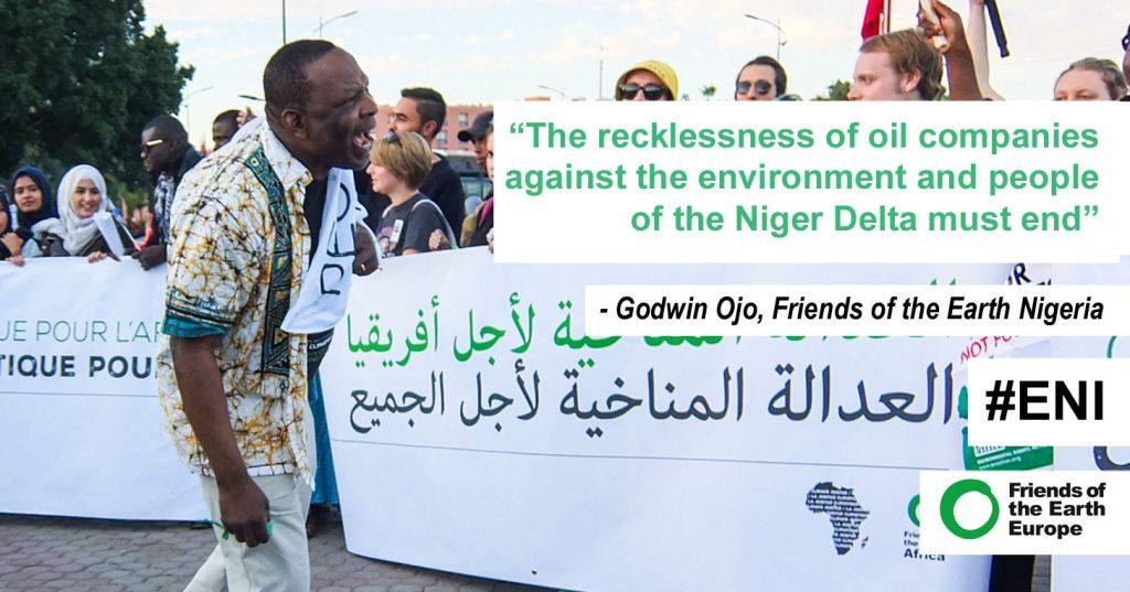 Nigerian community sues Italian oil giant Eni