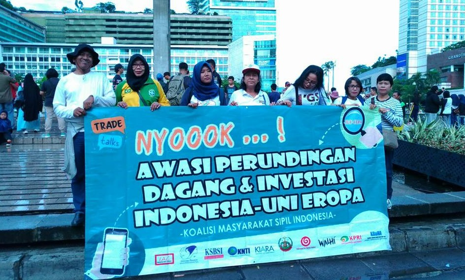 Civil society set out demands at EU-Indonesia trade negotiations