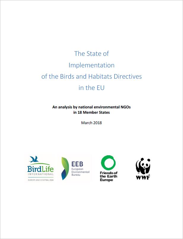 Report: State of implementation of EU nature laws