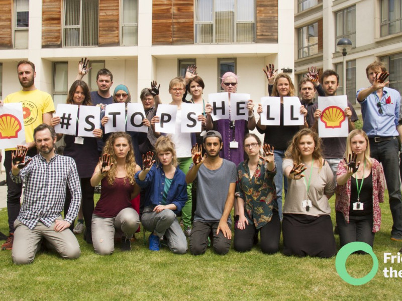 One of the recent #StopShell actions