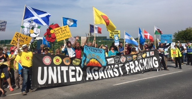 Battle to resist fracking in UK heats up in Lancashire