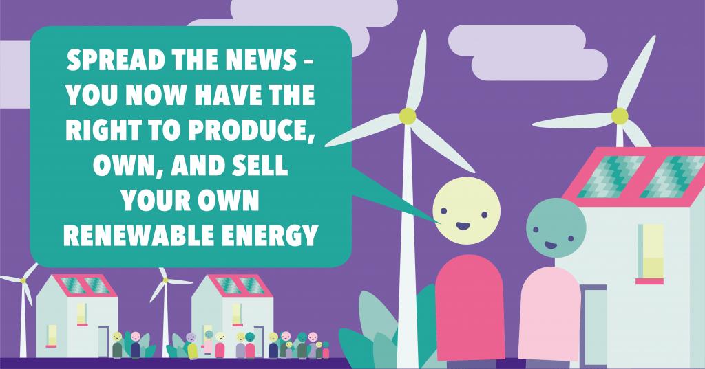 Unleashing the power of community energy