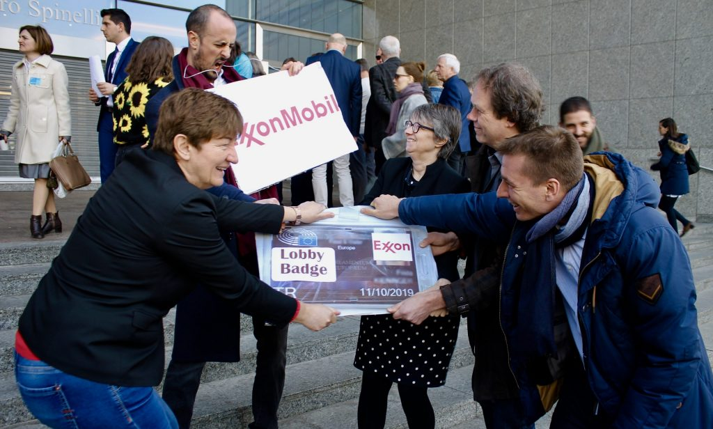Exxon's climate denialism: EU lobbying could be restricted
