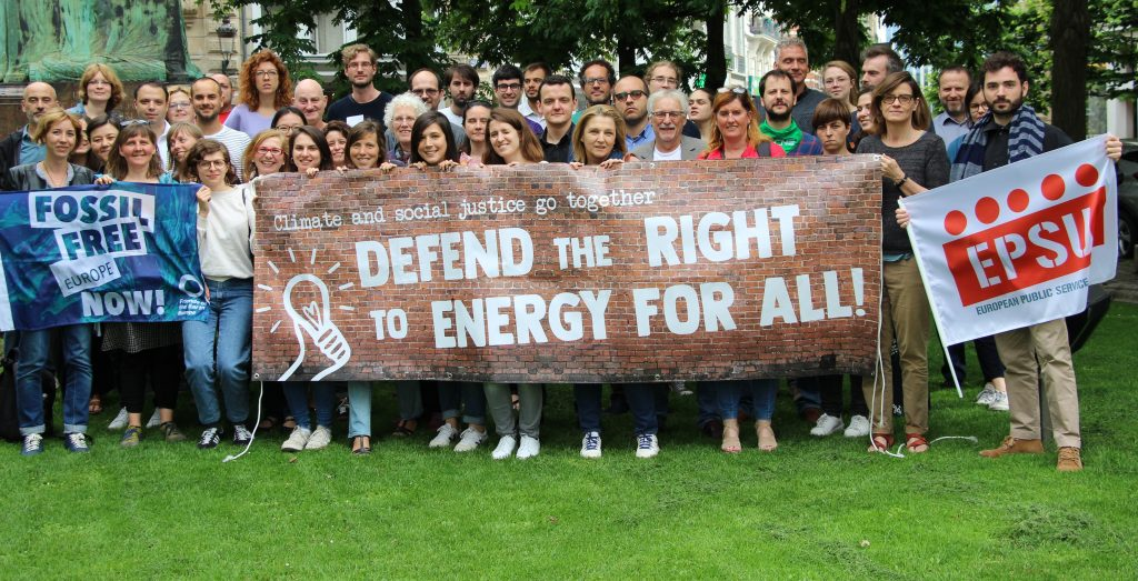 Declaration – we all have a right to energy