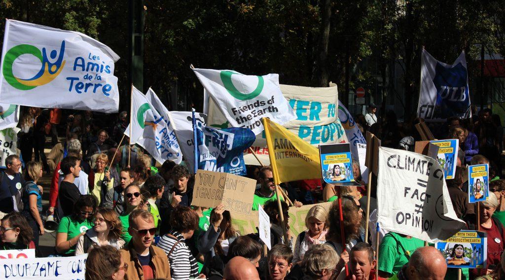 Climate strikes hit Europe