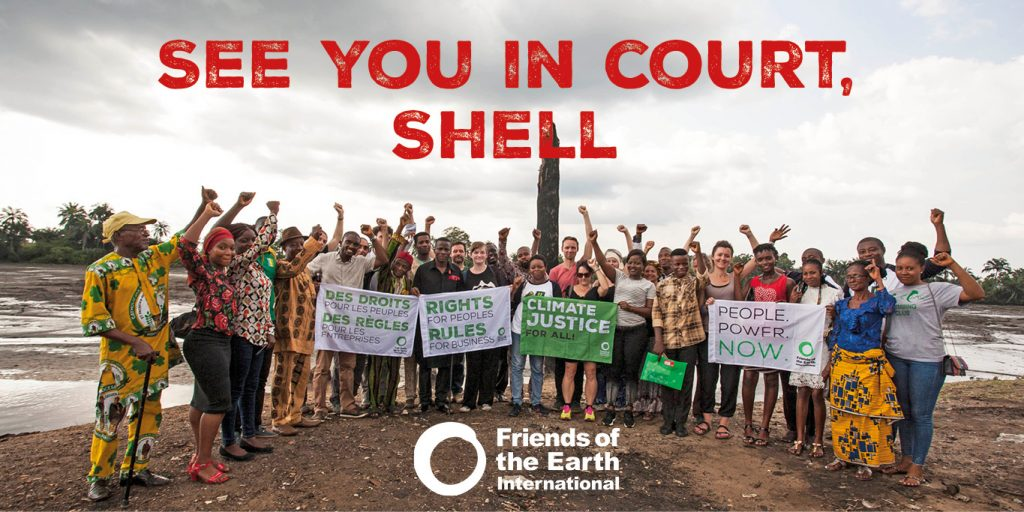 Shell court case: fossil fuel giant refuses to stop destroying the climate
