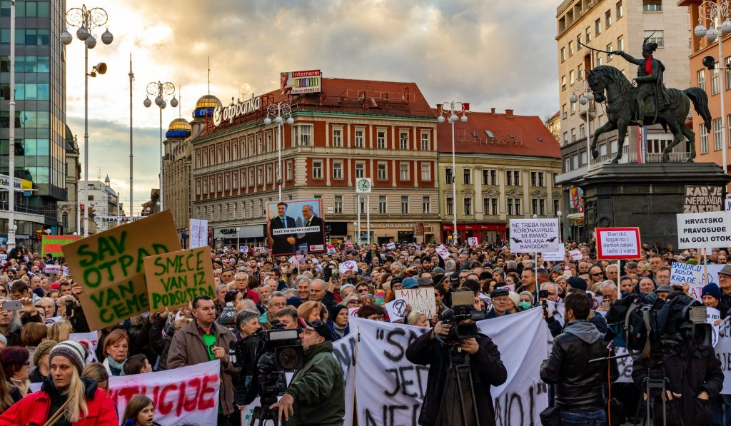 """""""Capital of trash"""": Zagreb citizens rise for change"""