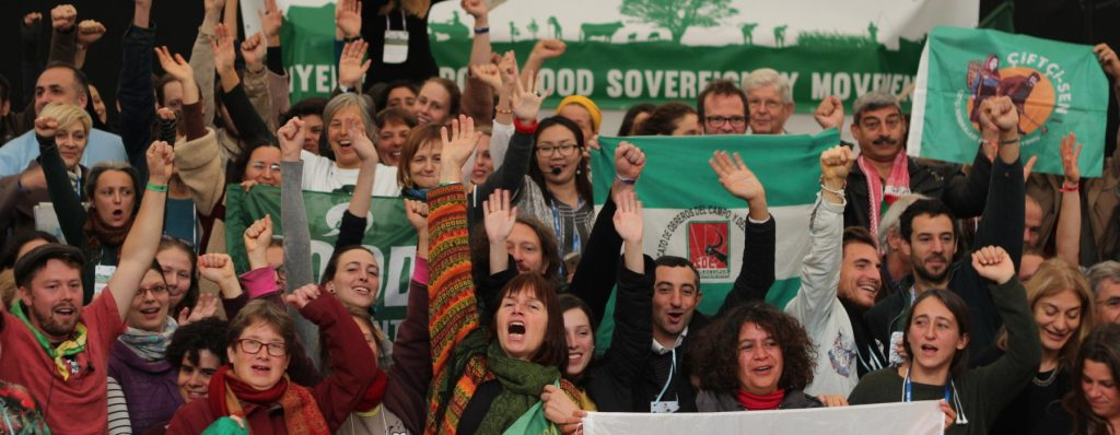 Solidarity in the struggle for food sovereignty