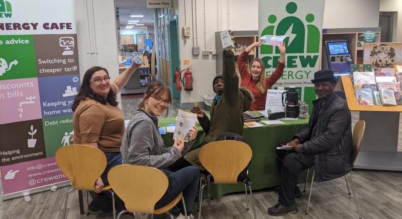CREW's Energy cafe