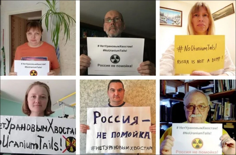 Russia: not a nuclear dump! – #covidsolidarity