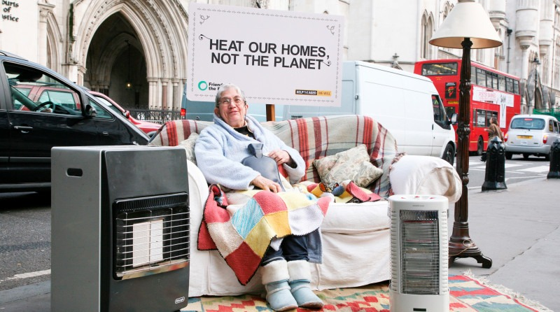 Heat homes not the planet - energy poverty