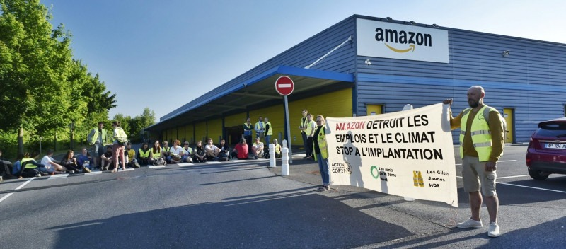 France: Standing with Amazon workers – #covidsolidarity