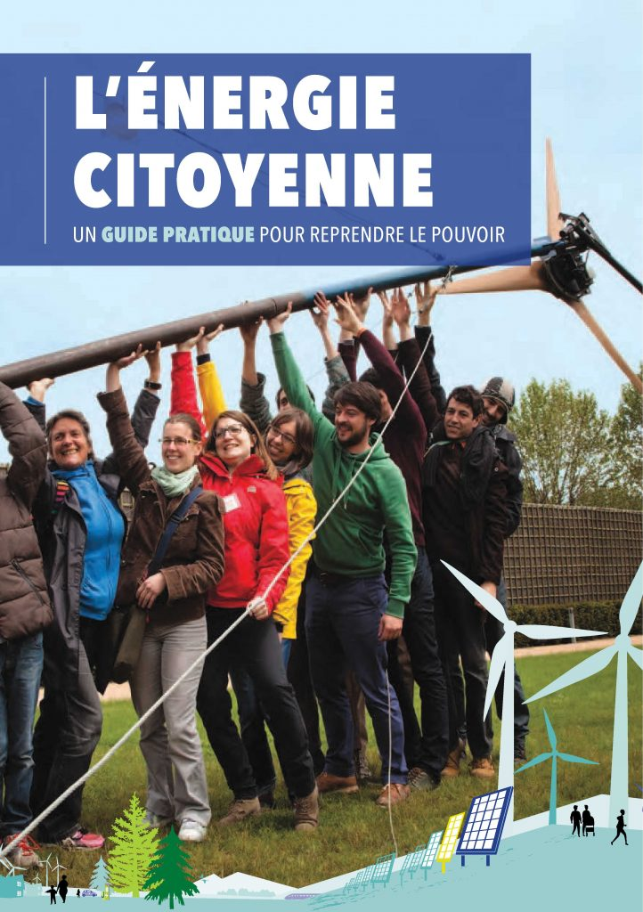 Front cover of community energy guide French version