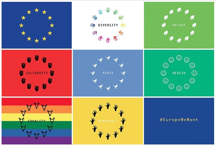 Europe We Want mosaic