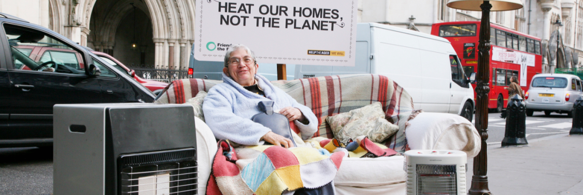 Heat homes not the planet