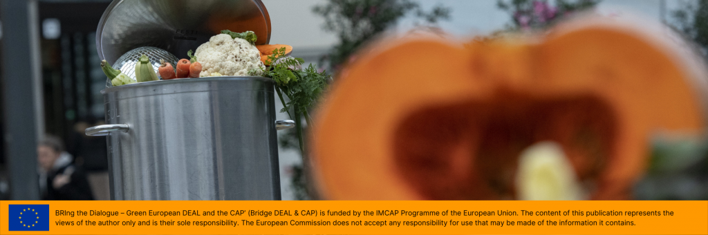 New Common Agricultural Policy (CAP): Bringing the Dialogue