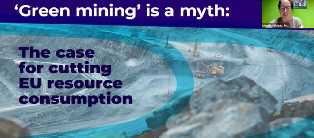 Green mining is a myth launch event